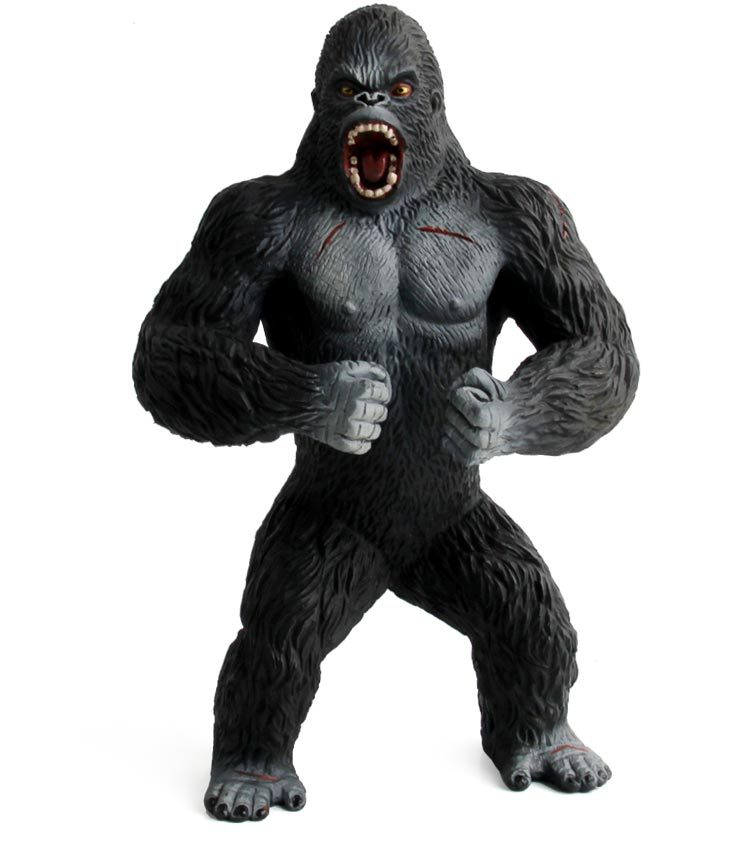 Original genuine wild Animals big monster KING KONG silverback gorilla figurine kids educational Figure children toy велосипед silverback stride 15 2014