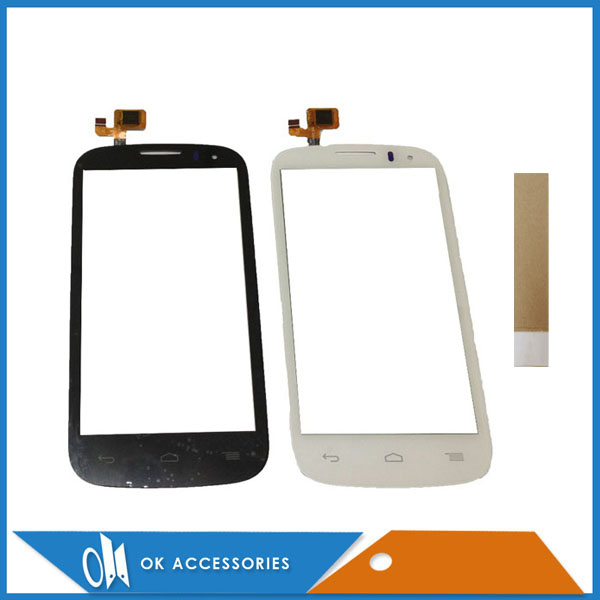 For <font><b>Alcatel</b></font> One Touch POP C5 5036 OT5037 <font><b>5036D</b></font> 5037E OT5036 Touch Screen Digitizer Black White Color With Tape image
