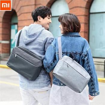 Xiaomi 90 Simple Shoulder Messenger Bag Large Capacity Casual Style Riding Bag Crossbody Waterproof Handbags For 13inch laptop Video Games Bags