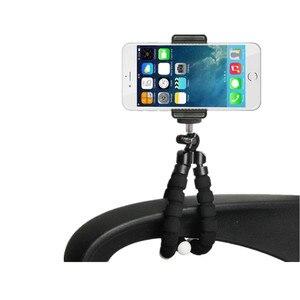 Image 5 - 휴대 전화 카메라 액세서리에 대 한 유연한 미니 삼각대 xiaomi에 대 한 삼성에 대 한 아이폰에 대 한 삼각대 Selfie 스틱 프로 9.25 이동