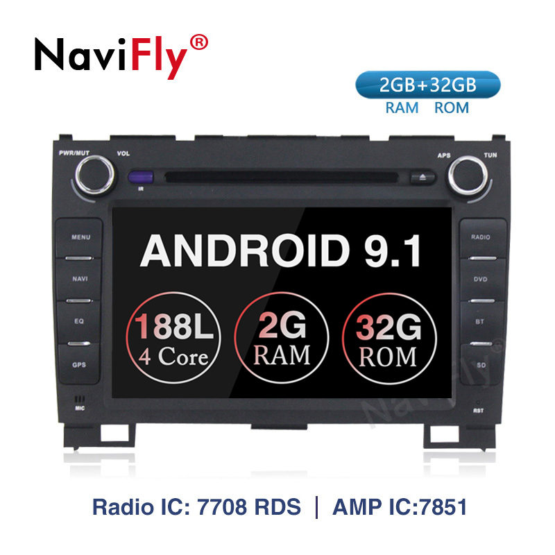 New! 2+32G 2din Android 9.1 Car Dvd Player GPS Navigation For Haval Hover Greatwall Great Wall H5 H3 Car Radio FM WIFI USB SD H5