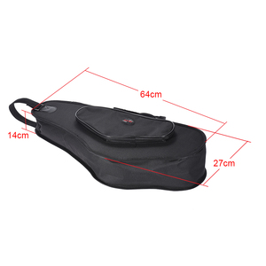 Image 5 - Saxophone Bag 600D Thicken Padded Alto Saxophone Sax Bag Case 15mm Foam Hard Board Double Zipper with Adjustable Strap