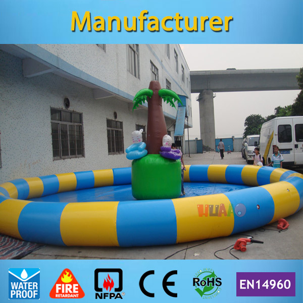 Commercial Round 6m diameter Inflatable Swimming Pool for Adult and Kids(Free air pump+free shipping)