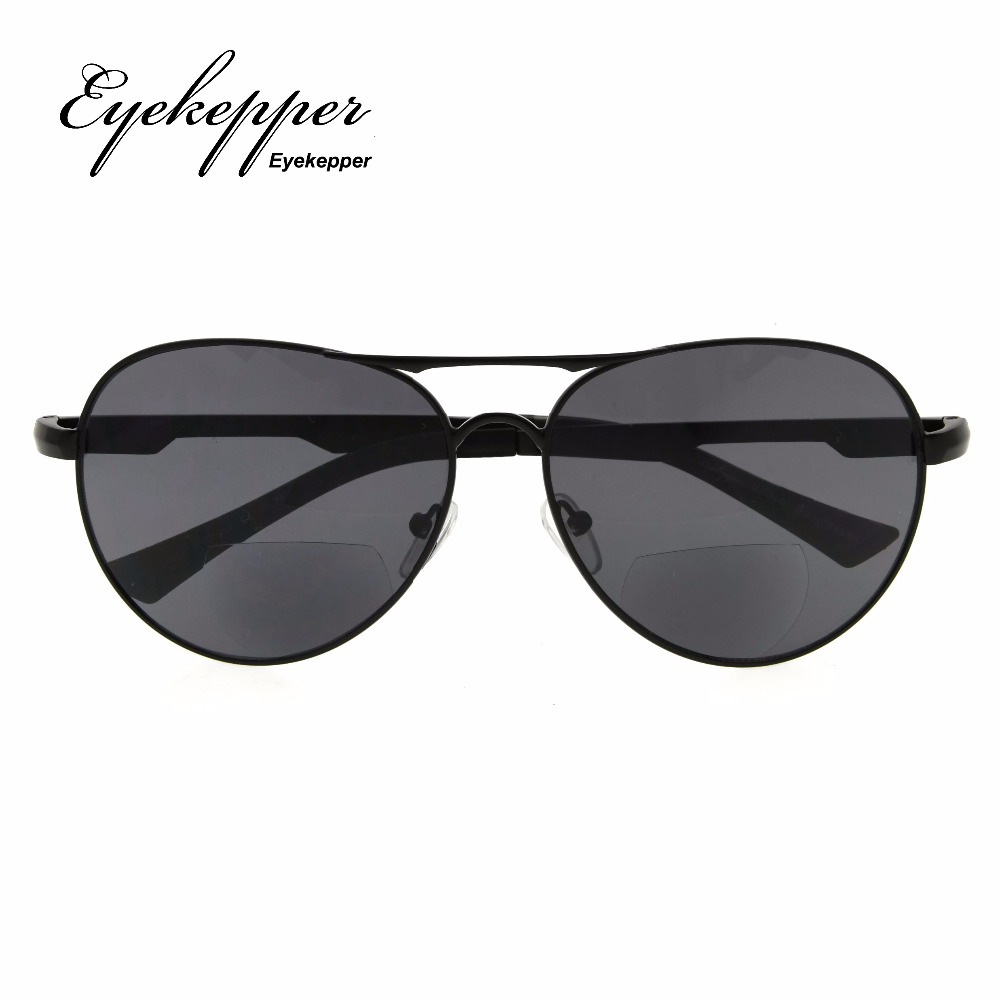 797d292769 PGSG803 Eyekepper Polycarbonate Polarized Bifocal Sunglasses Pilot Style  Bifocal Sun Readers Outdoor Reading Glasses +1.50~+2.50-in Reading Glasses  from ...