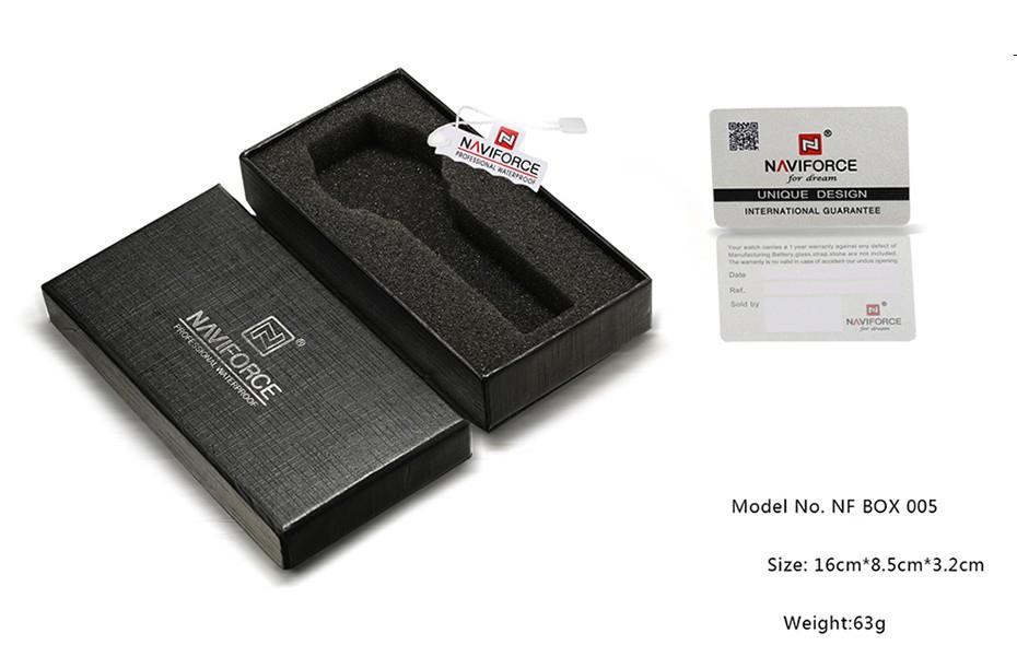 Top Luxury Brand NAVIFORCE Men Sport Watches Men's Quartz LED Analog Clock Man Military Waterproof Wrist Watch relogio masculino 15