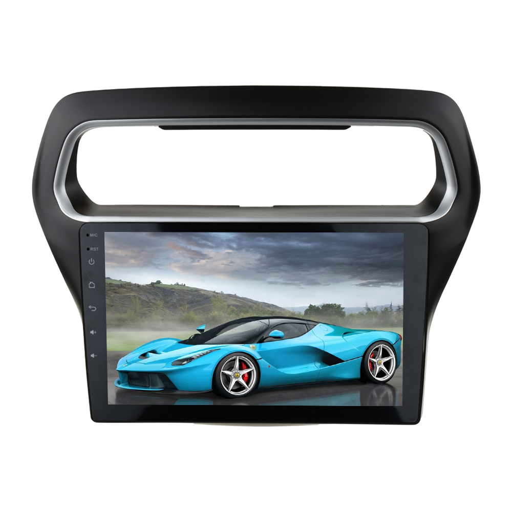Clearance Sinosmart Android 8.1 Car GPS Navigation Radiofor Ford Escort 2015 2din 2.5D IPS/QLED Screen 1