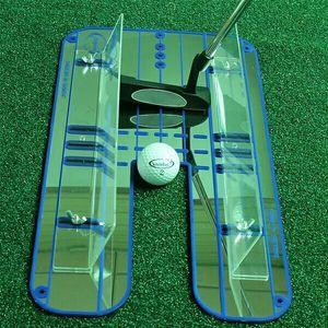 Image 2 - Зеркало для гольфа, тренировка, выравнивание, Eyeline, новый тренировочный тренажер, портативный