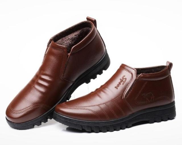 Фото ботинки мужские зимние утепленные роскошные брендовые теплые
