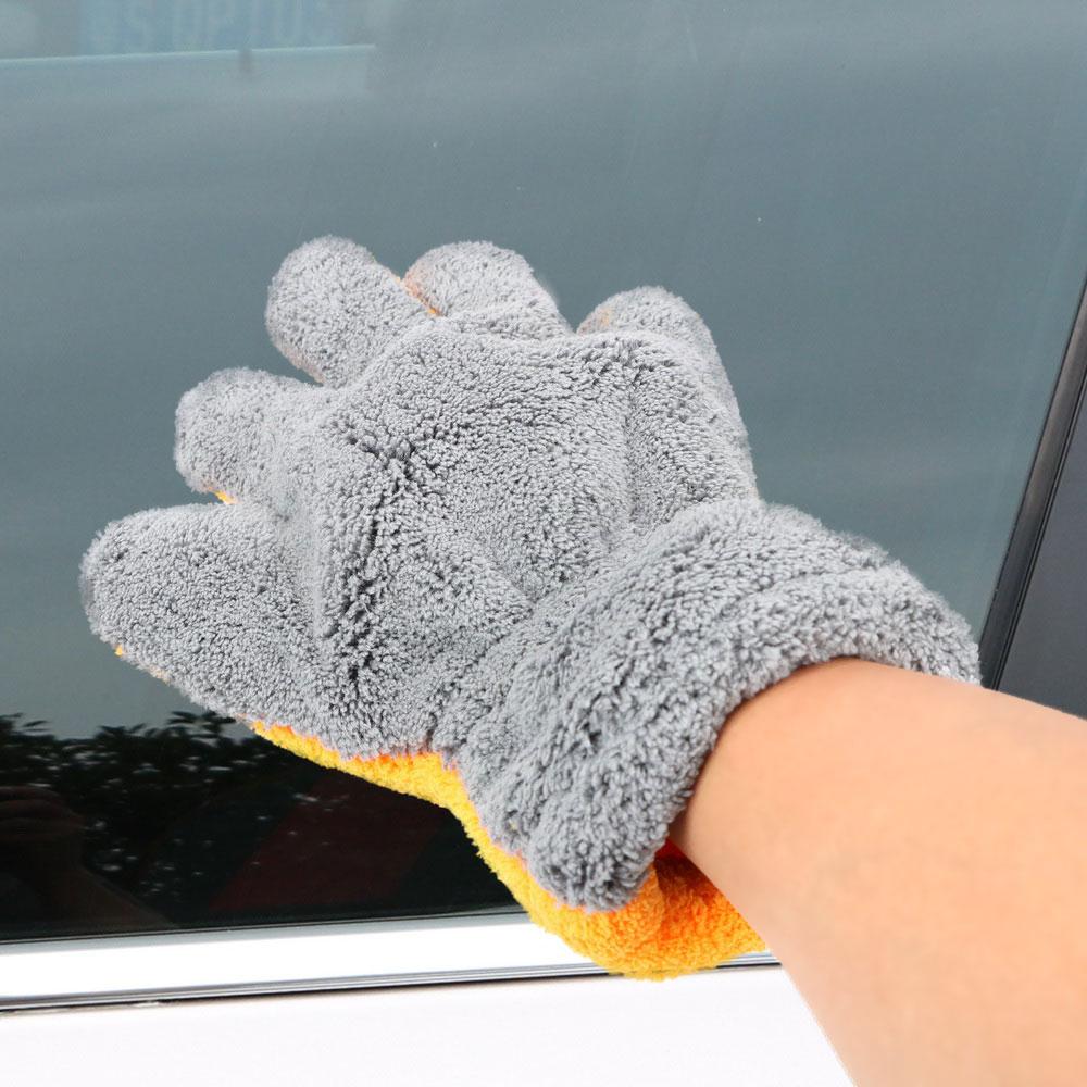 Vehemo машины стиральная перчатка для чистки перчатка для автомойки Толстая перчатка для мытья автомобиля для бытовой уборки дома воском