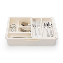 Creative Kitchen Tableware Drawer Cutlery Spoon Chopsticks Classification Plastic Storage Tableware Box Sort Out Design