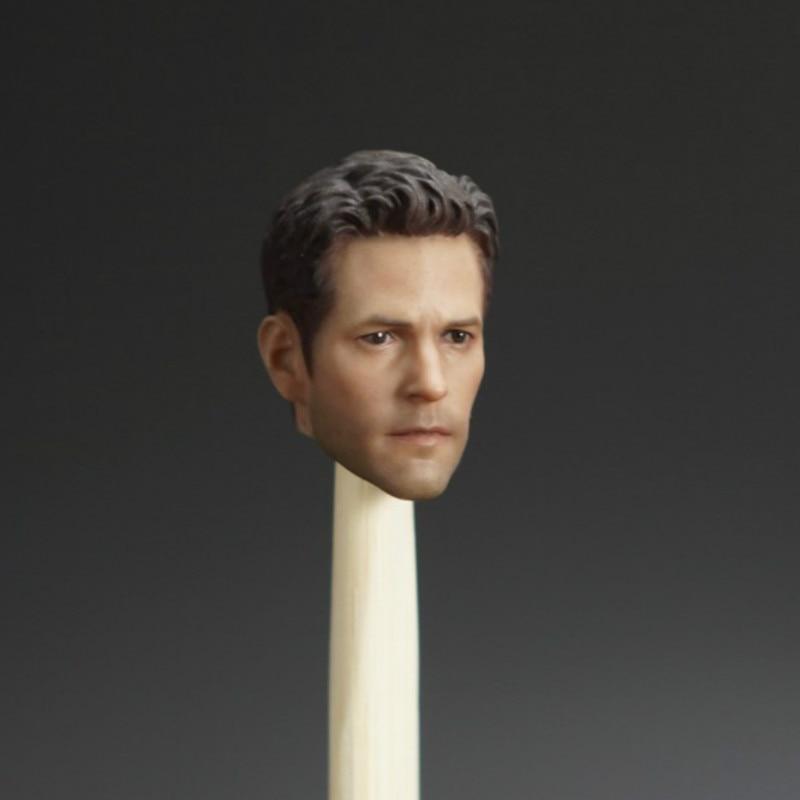 "1//6 Scale Paul Rudd Ant-Man Head Sculpt for 12/"" Action Figure"