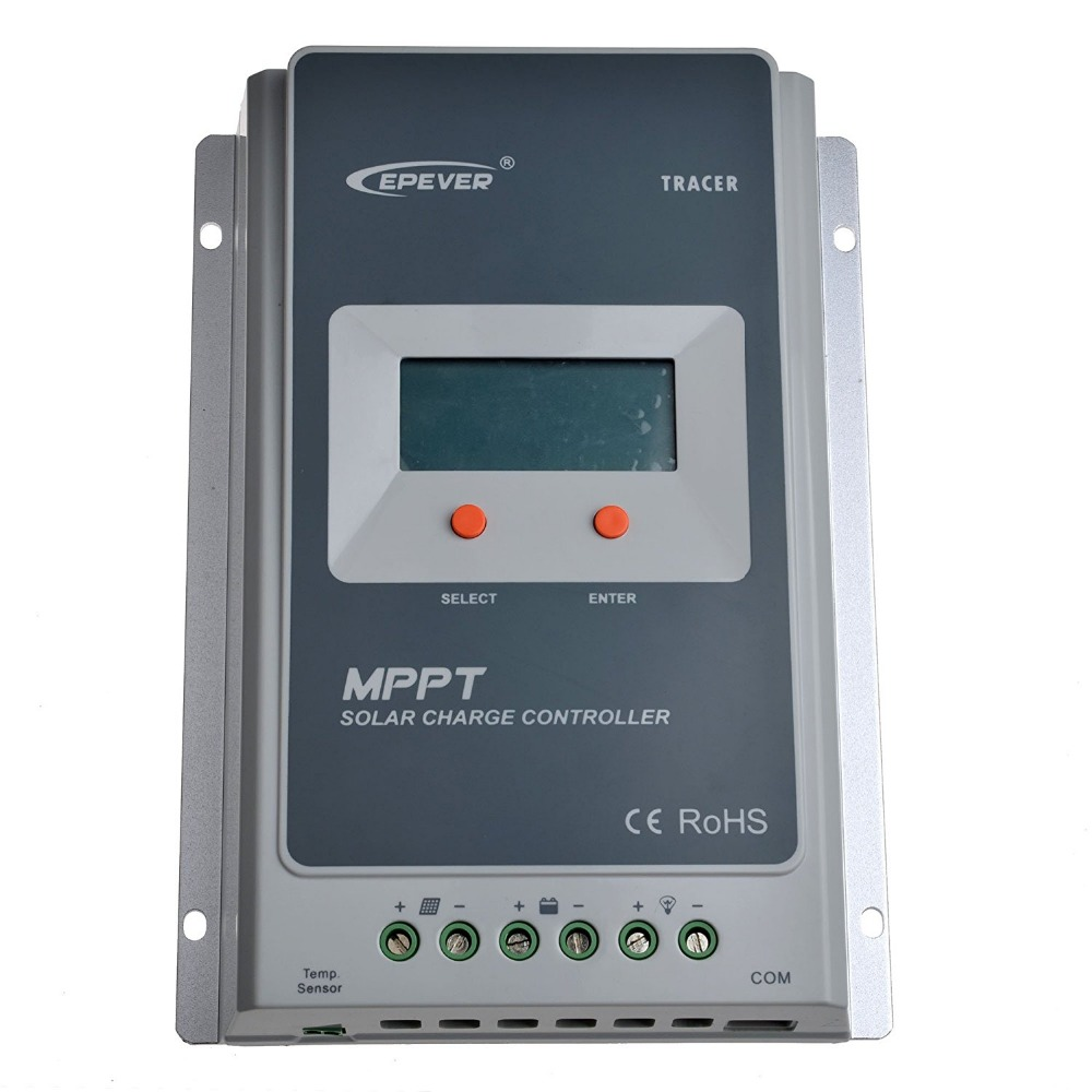 Tracer 3210A EPsloar 30A MPPT Solar Charge Controller 12V 24V LCD Diaplay EPEVER Regulators