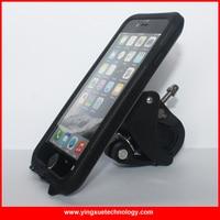 360 Degree Rotate Bike Mount Bicycle Rack Handlebar Motorcycle Holder Cradle With Waterproof Case For IPhone