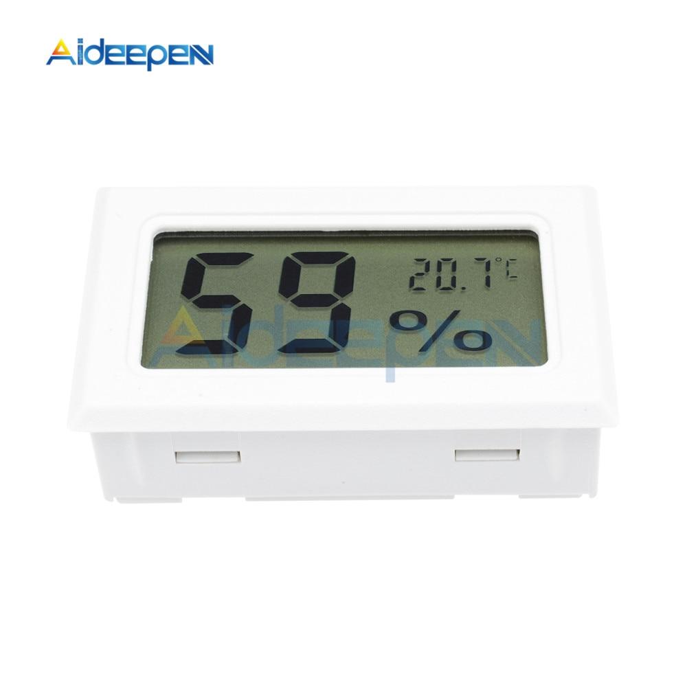 LCD Digital Thermometer Hygrometer for Freezer Refrigerator Fridge Temperature Sensor Humidity Meter Gauge Instruments Cable 23