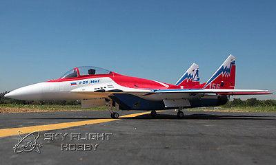 Skyflight LX EPS Red MIG29 RTF RC Plane Model W/ Vector Nozzle Motor Servos ESC Battery code red boxed rtf