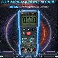 DT-19N Амперметр Высокоточный интеллектуальный цифровой мультиметр мини-автоматический универсальный измеритель для ремонта мобильных теле...
