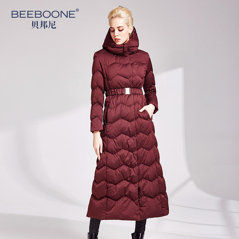 2019 duck   down     coat   jackets women long fashion