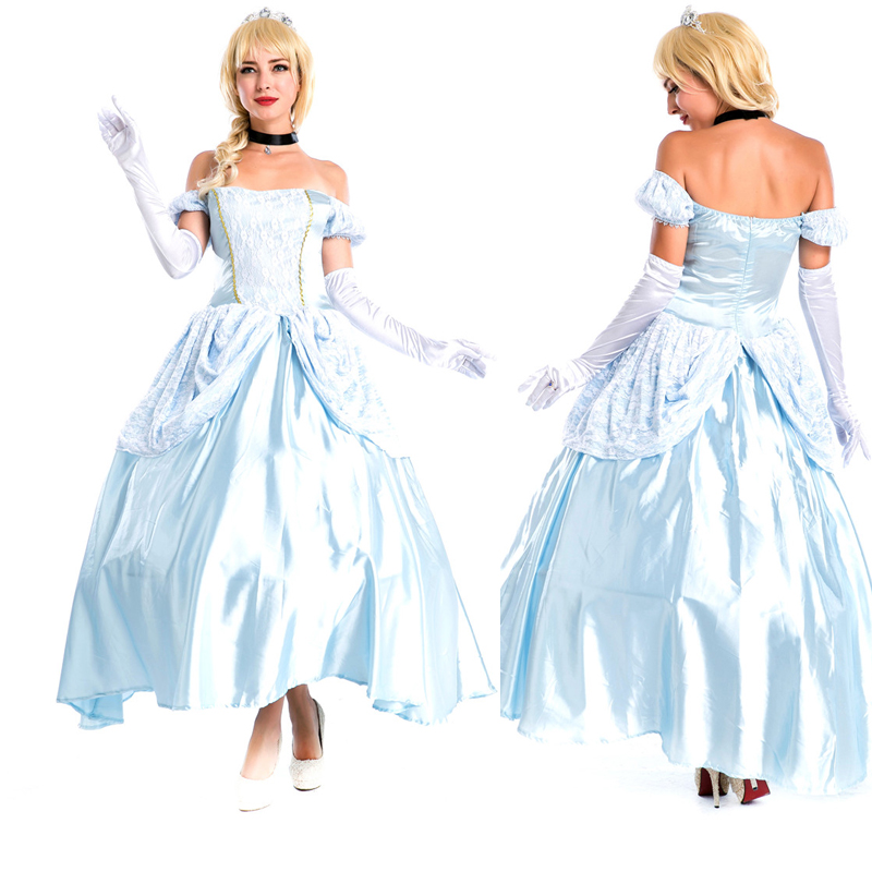 Fashion Design Halloween Ball Gown Medieval Dress Sissi Costume Dress Party Carnival Halloween Costumes for Women halloween costume costume for women halloween costumes for women -