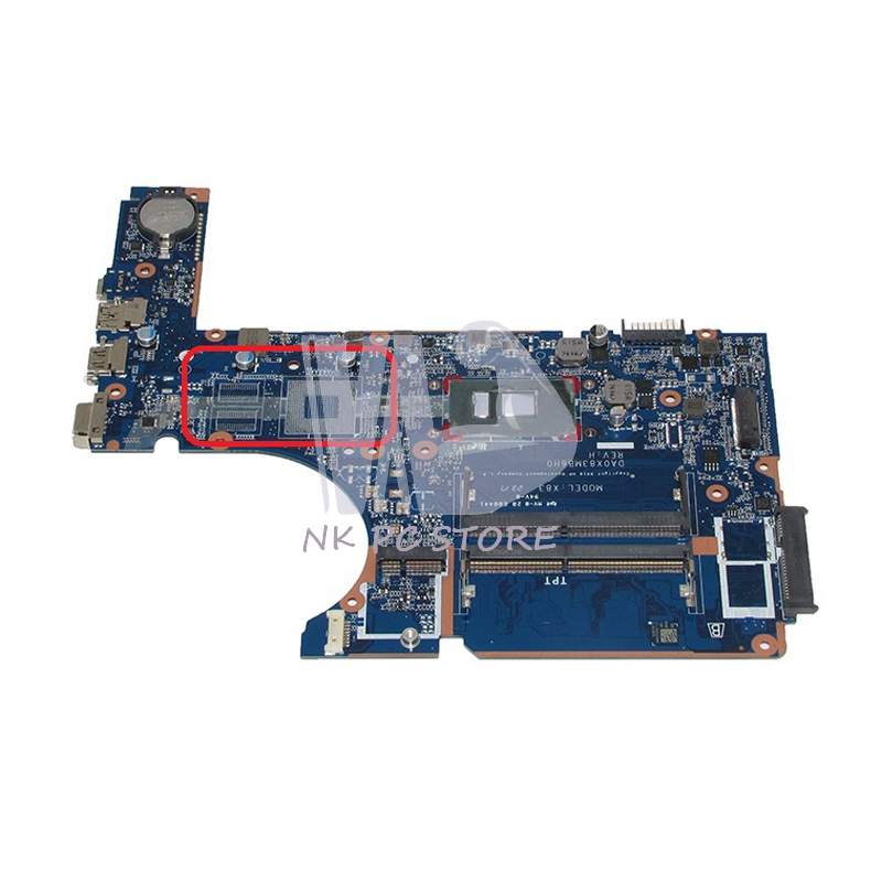 NOKOTION 907712-601 DA0X83MB6H0 Main Board For HP <font><b>450</b></font> G4 470 Laptop motherboard SR2ZU i5-7200U CPU image