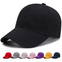 Hat Mens Baseball Cap Korean Tide Hip Hop Leisure Fashion Solid Ins Women Sunshade Snapback Hats Adjustable