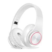 KAPCICE Micro SD Card Slot Wireless Headphones Bluetooth Headset Earphone Earbuds With Microphone For PC mobile phone music