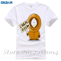 Carpe Diem Kenny Man T Shirt South Park Leisure Customized Comfortable Tops Men Summer O Neck Tshirt Dad Newest Unique Clothes