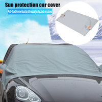 Universal Big Size Automobile Sunshade Cover Snow Ice Shield For Windshield Winter Sun Car Front Window Windscreen Cover|Windshield Sunshades| |  -