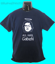 NEW GabeN Internet Meme Gamer Inspired T Shirt Top Mens ~ STEAM Funny Valve  Tops Tee New Unisex free shipping