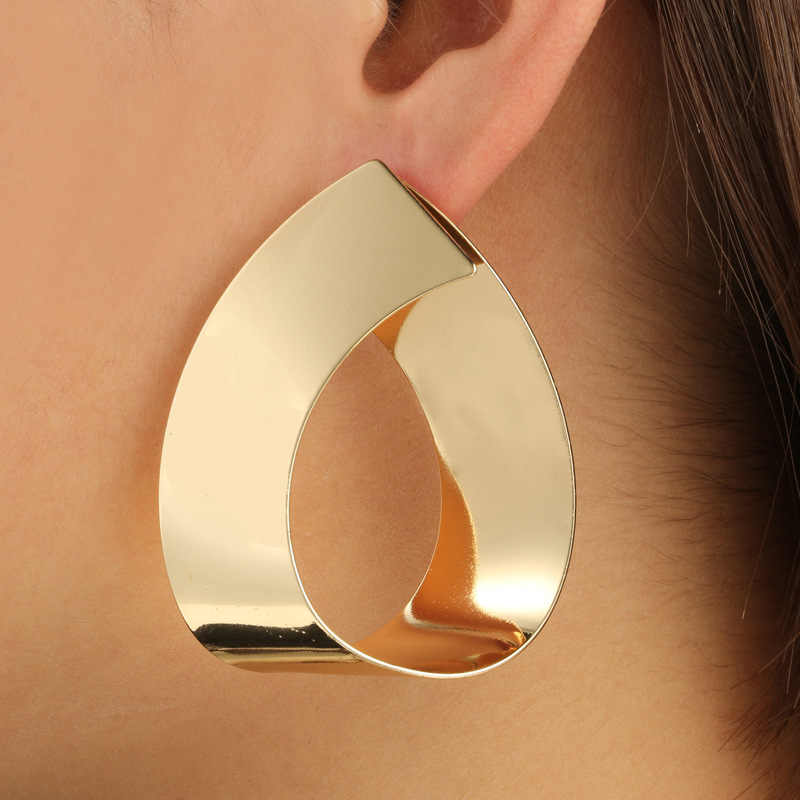 Fashion statement earrings 2019 Geometric colorfu summer earrings For Women Big Dangle Earrings Drop modern art  jewellery