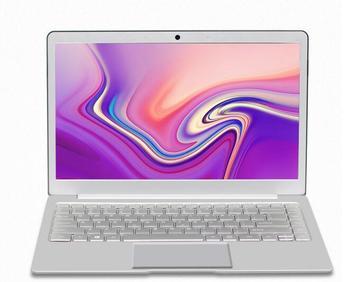 13.3 Inch Laptop Full Metal Shell Notebook Intel Celeron J3455 8G 128GB Ultrabook WiFi Backlit Keyboard Windows 10 Computer - Silver, Intel Celeron