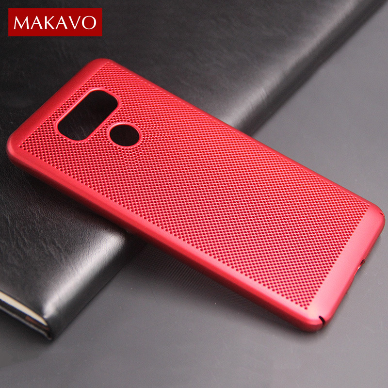 MAKAVO For LG G Case Matte Skin Fundas Hard Plastic Housing Slim