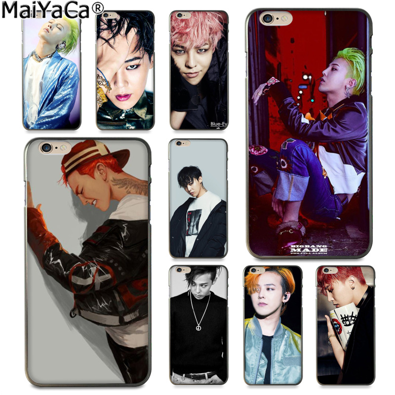 MaiYaCa G-DRAGON <font><b>BIGBANG</b></font> GD Kwon Ji Yong Luxury fashion cell phone case for iphone 11 pro 8 7 66S Plus X 5S SE XS XR XS MAX image