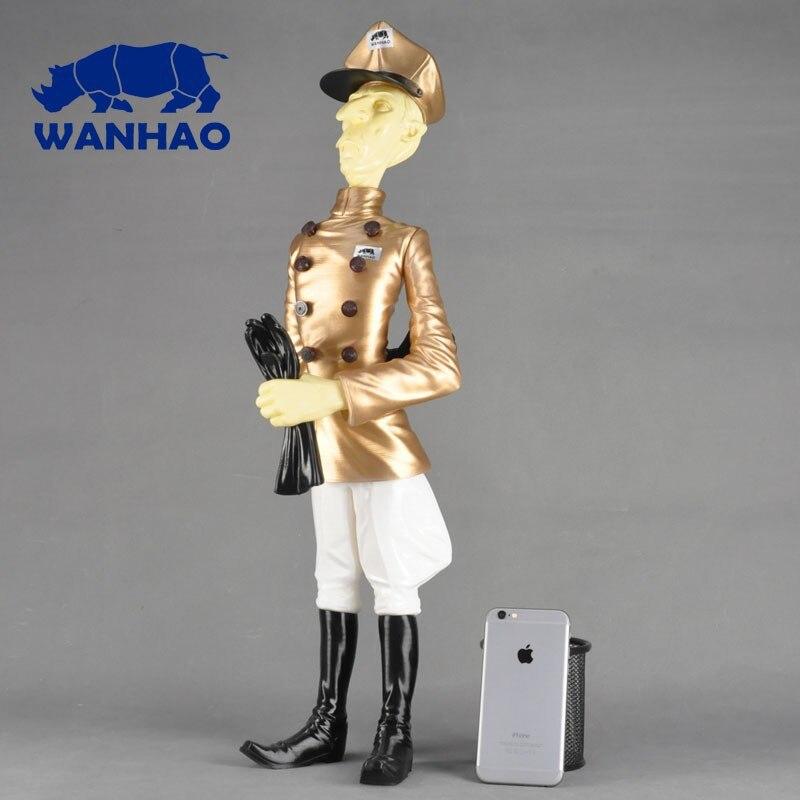 Wanhao 3d printer Wanhao Duplicator 4X for 2kg filaments gift FDM desktop 3dprinter