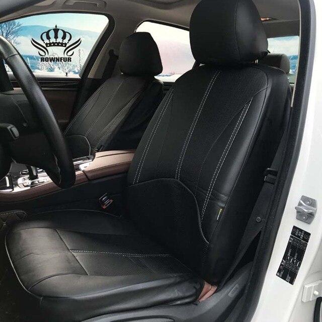Novo Luxo PU LEATHER Auto Universal Tampas de Assento Do Carro para Caber a maioria das Tampas de Assento do carro do presente Automóvel assentos de carro À Prova D' Água interiores