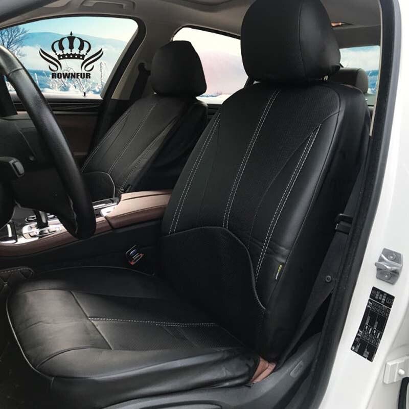 Nuevo lujo PU cuero Auto asiento de coche Universal asiento de automóvil cubre para toyota lada kalina granta priora renault logan