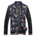 Men Leather Jacket 2016 Fashion Men Coat Autumn Motorcycle Leather Jackets And Coats Jaqueta De Couro Masculina Plus Size 5XL