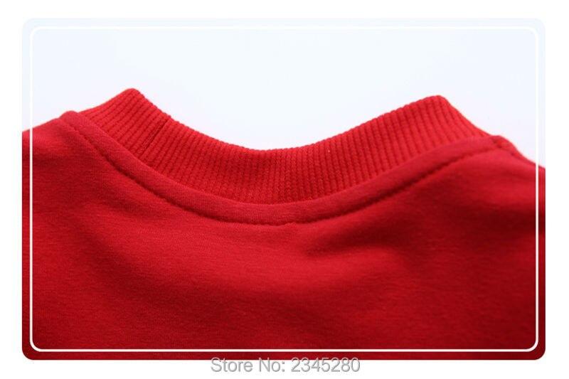 T-Shirts For Boys Girls Deer Animal Print Sweatshirt Clothes Childrens Sweaters Raglan Tops Teen Children Blouse Kids Tees Bobo14