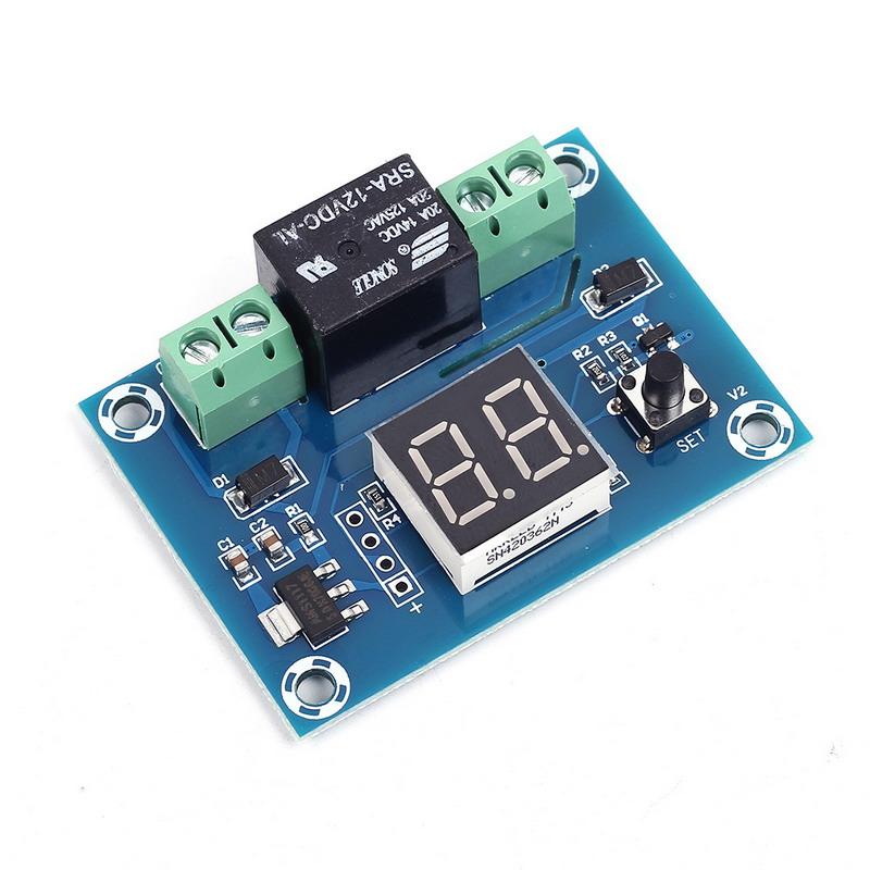 XH-M662 DC 12V Digital Timer Switch Countdown Timer Module Automatic Controller