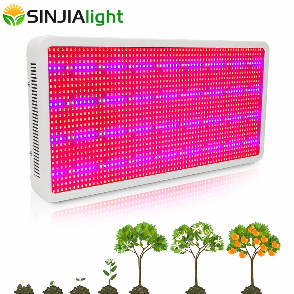 1600W LED Grow Light Full Spectrum Indoor Plant Lamp For Flowers Vegs Bloom Fruit Hydroponics Grow