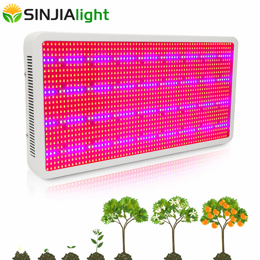 1600W LED Grow Light Full Spectrum Indoor Plant Lamp For Flowers Vegs Bloom Fruit Hydroponics Grow Tent Greenhouse Plant Lights