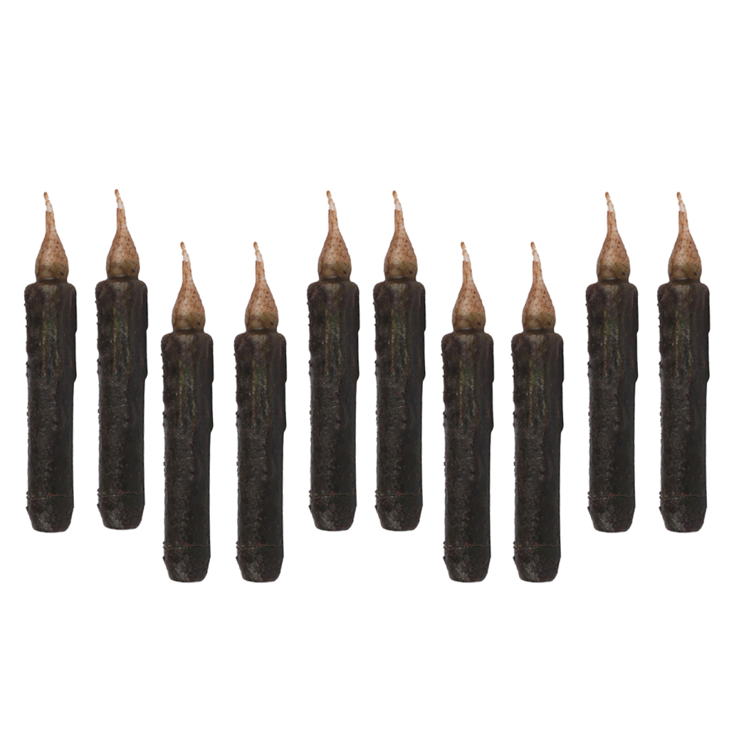 10 x Shabby Chic Electric LED Candle Flameless Candle for Party Decoration