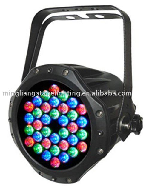 waterproof 36pcs 3W led par 64,outdoor led par light,professional lighting,RGB stage lighting (CL-009A)