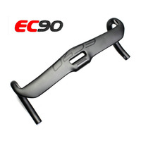 EC90 Carbon Fiber Highway Bicycle Handlebar Road Bike Handlebar 31 8 400 420 440mm Black Cycling