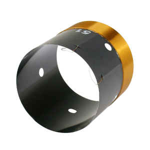 Image 4 - GHXAMP 51mm Bas Ses Bobini Woofer 8ohm Onarım Parçaları Havalandırma deliği Ile 2 katmanlı Yuvarlak Bakır Tel 200  280W 1 adet