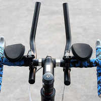 Fahrrad Rest TT lenker Für Road Bikes Aero Position Clip Auf Triathlon Bars YA88