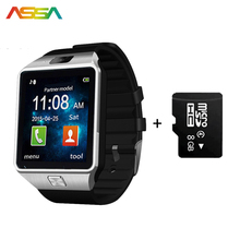 Top Men Watch Men Smart Electronics DZ09 Pedometer Smart Watch Android Bluetooth Sports Electronic Men's Wrist Watches IOS Phone