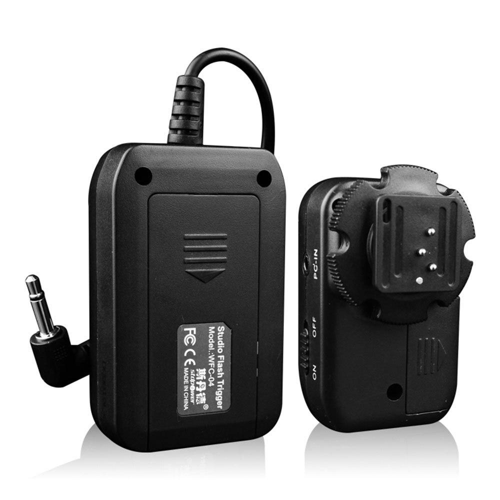 Sidande электронная новый превосходное качество WFC-04 433 мГц 16 каналов частота беспроводная вспышка триггера для студии видеокамера