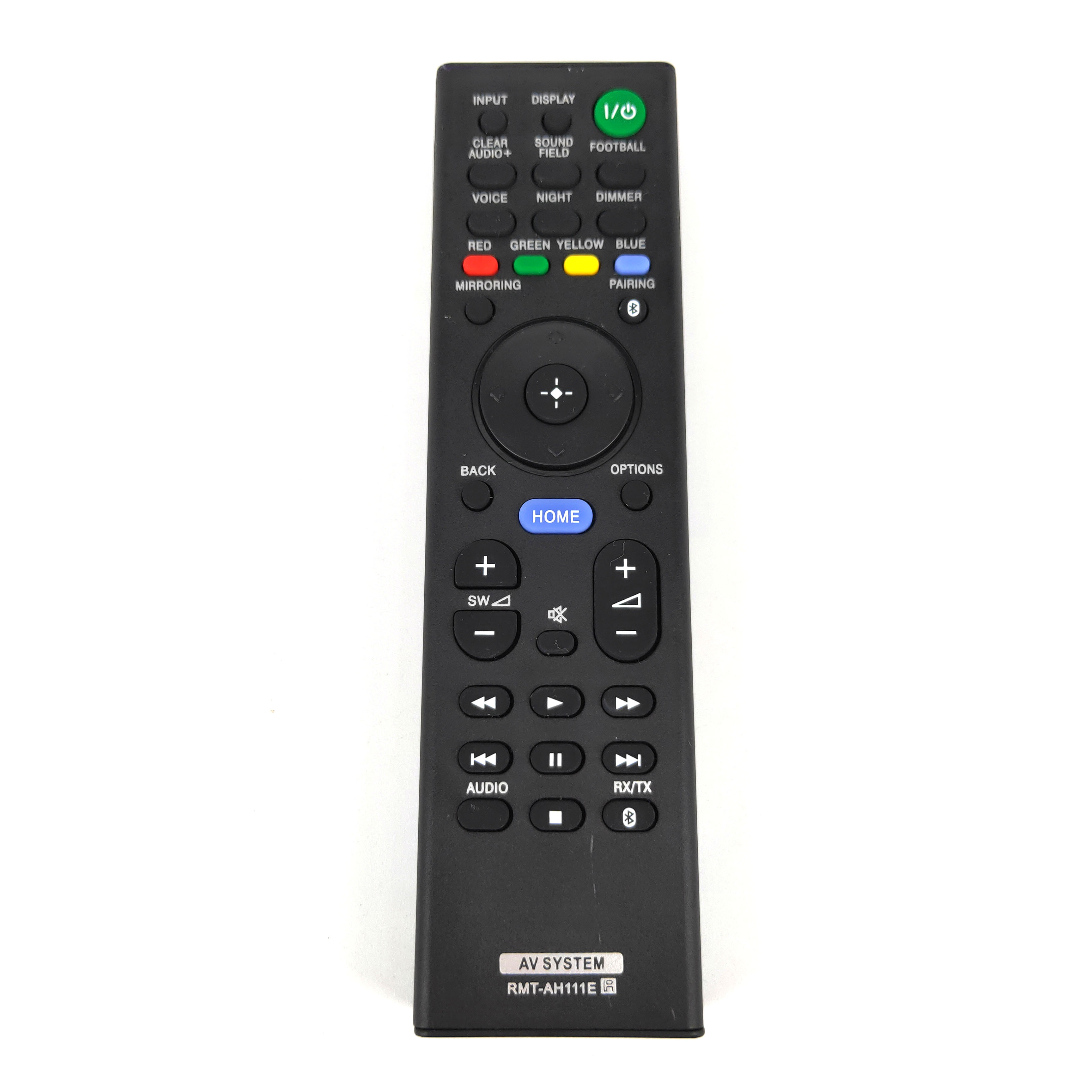 NEW RMT-AH111E for Sony Sound bar Home Theatre System Remote Control for HT-ST5 HT-XT1 HT-CT290 HT-CT291 HT-NT3 SA-CT390
