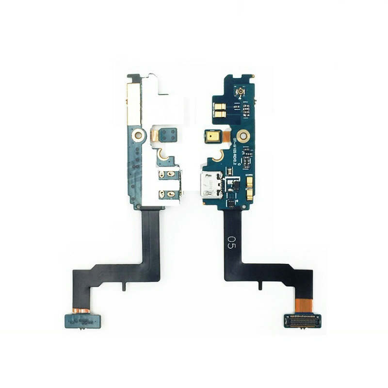 New Microphone Module+USB Charging Port Board Flex Cable Connector Parts For Samsung S2 I9105