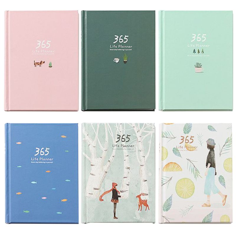 365 Days Personal Diary Planner Hardcover Notebook Diary 2019 Office Weekly Schedule